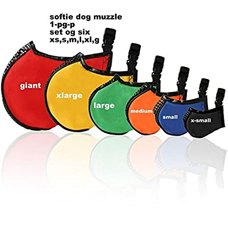 Proguard Pets 1-PG-M Softie Muzzle Medium Pro Guard 826434