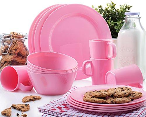 Pink 16 Piece Set - 6