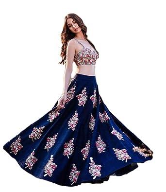 47332ea4fd Image Unavailable. Image not available for. Color: REKHA Tradition Designer  Lehenga Choli Party Wear Lehenga Choli Indian ...