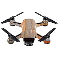 Skin For DJI Spark Mini Drone – Barnwood | MightySkins Protective, Durable, and Unique Vinyl Decal wrap cover | Easy To Apply, Remove, and Change Styles | Made in the USA