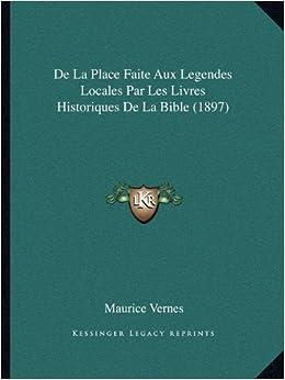 De La Place Faite Aux Legendes Locales Par Les Livres