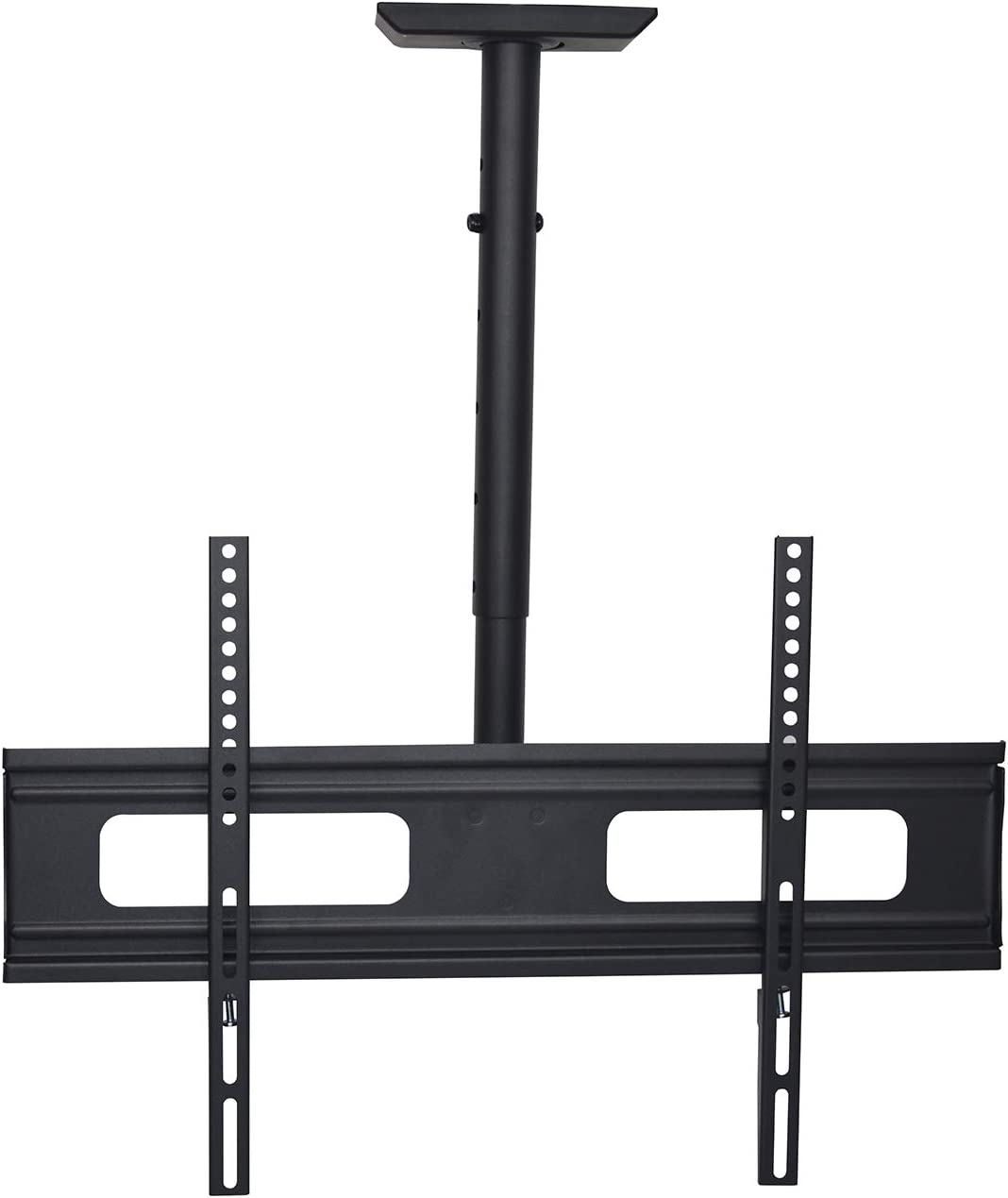 Universal Solid Ceiling tv Mount, tilt and rotatable,fit 37inch to 75inch TV LCD,LED,OLED,Plasma TV . Bubble Level Included