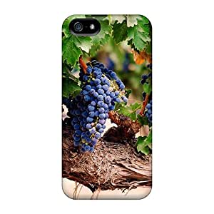 TiXOtKS3552gePGC Case Cover Protector For Iphone 5/5s Blue Grapes Case