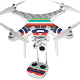 MightySkins Protective Vinyl Skin Decal for DJI Phantom 3 Professional Quadcopter Drone wrap cover sticker skins New Color
