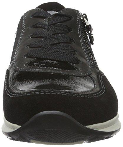 Ara Helsinki Vrouwen Sneakers Black (zwarte 01)
