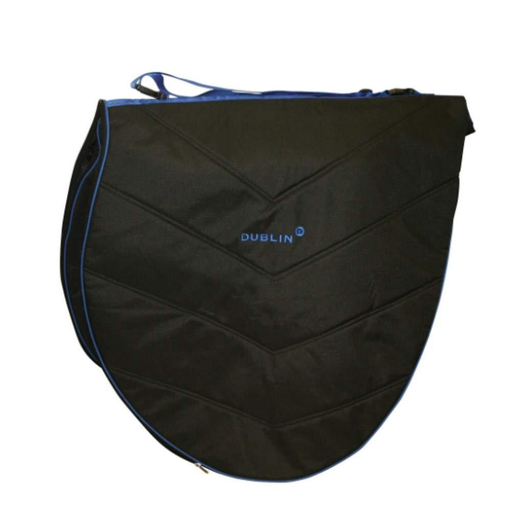 Dublin Imperial Saddle Bag Black bluee