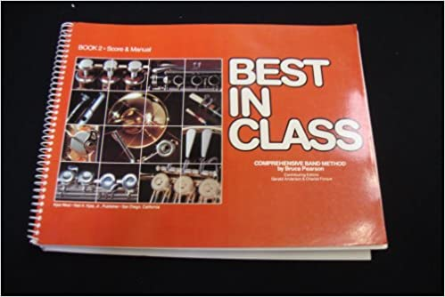 best in class book 2 score and manual comprehensive band method