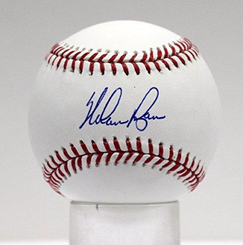 Ryan Ball Nolan (NOLAN RYAN SIGNED AUTOGRAPHED BASEBALL OML BALL RYAN HOLOGRAM 11057)