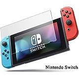 Nintendo Switch フィルム Switch ガラスフィルム 液晶 保護フィルム 強化ガラス 硬度9H 高透過率 指紋防止 反射防止 気泡レス加工 任天堂 スイッチ ガラスフィルム 保護フィルム(クリア)
