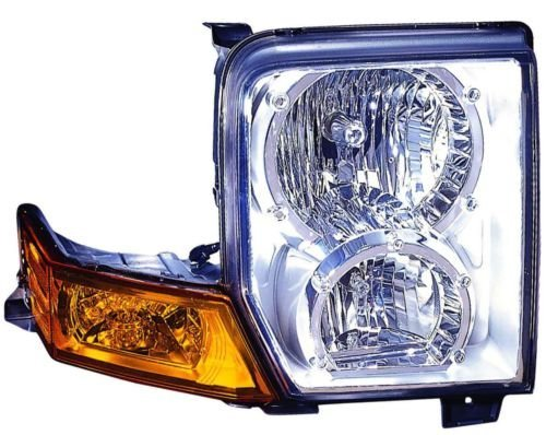 Jeep Commander Replacement Headlight Assembly Halogen - Passenger Side