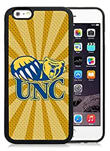 Fashionable And Unique Custom Designed With NCAA Big Sky Conference Football Northern Colorado Bears 4 Protective Cell Phone Hardshell Cover Case For iPhone 6 4.7 Inch TPU Phone Case Black