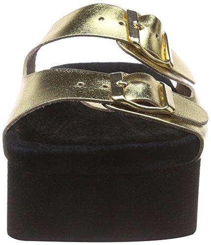 P1 217004 Con gold Donna gold Platea Oro Sandali rrASqCxw4