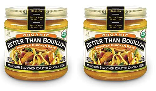 Organic Chicken Base - Better Than Bouillon Organic Roasted Chicken Base, 8 ounces (227 grams) - (Pack of 2)