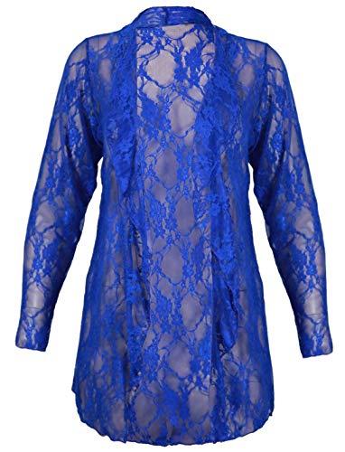 Gilet 21fashion Noir Taille Unique Femme Manches Longues Marine Bleu 4wdArqSd