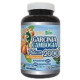 Herbal Slim Garcinia Cambogia Platimum 2000 for Weight Loss HCA+Calcium+Potassium Salt