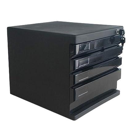 LPYMX Gabinete de Archivo de Escritorio, gabinete de Almacenamiento y gabinete Tipo cajón archivador de