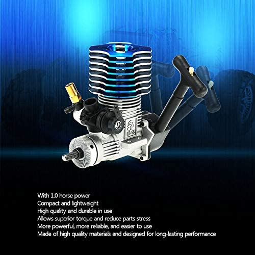 Nrpfell 02060 para HSP Partes Piezas de Repuesto para 1//10 R//C Auto Modelo Azul 18 Motor Nitro 2.74Cc 02060 RC Motor del Coche
