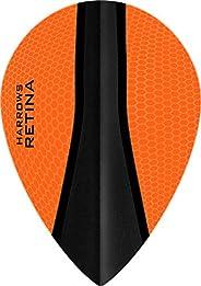 5 x Sets Harrows Retina X Orange Dart Flights Pear