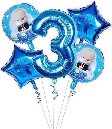 XL Helium Folienballon Baby Boss Geschenk Chef Shower Baby Party Deko Geburtstag
