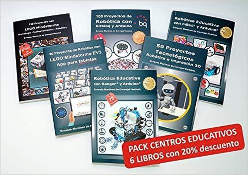 Pack 6 Libros LEGO+Arduino+Makeblock con 20% dto.: Amazon.es ...