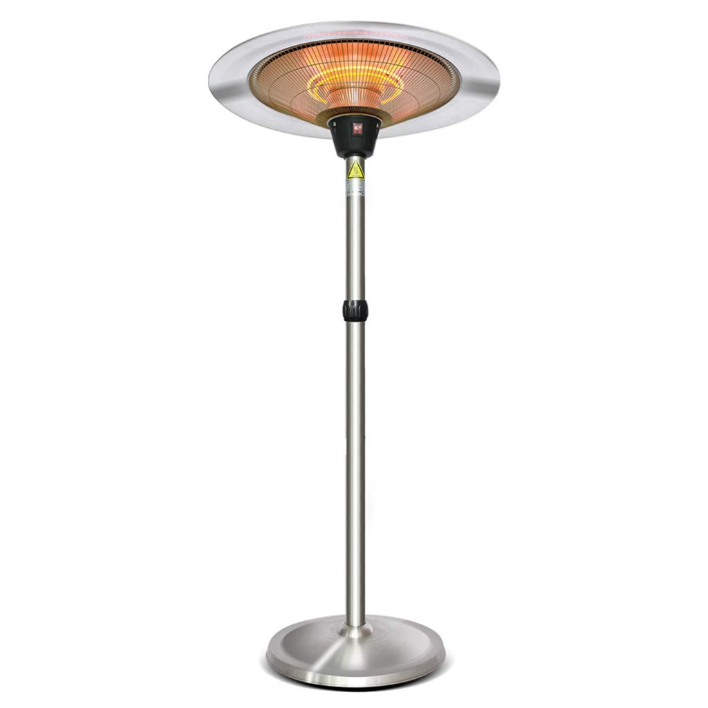 XLOO Patio Heater- Outdoor Heater Infrared Heater,Electric Hanging Heater w/Remote, with 3 Power Levels,Adjustable Height,Super Quiet 3s Instant Warm Garage Heater by XLOO