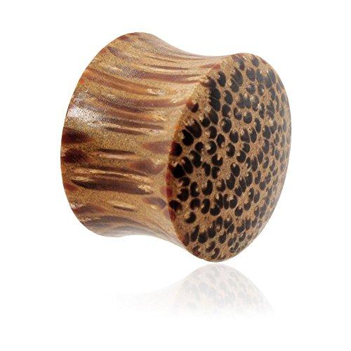 (MsPiercing Pair Of Organic Coconut Wood Plugs, Gauge: 9/16
