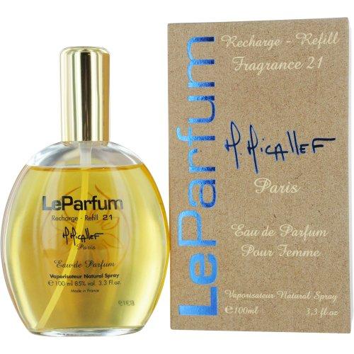 M. Micallef Paris Le Parfum Eau De Parfum Spray Refill No.21 Pour Femme for Women, 3.4 Ounce (Femme 3.4 Ounce Edt)
