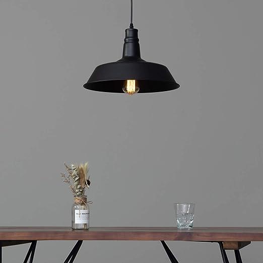 Kosilum Suspension Design Noire Industrielle Xena Ampoule