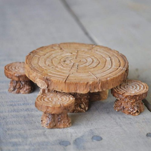 Fiddlehead Fairy Village Woodland Stools product image