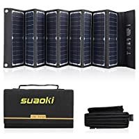 SUAOKI Solar Charger 60W Portable Solar ...
