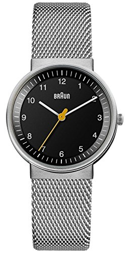 Braun classic BN0031BKSLMHL Womens quartz watch
