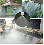 Bangder Leak Proof Misting System- 33ft Cool Mist System, Misters for Patio, Gazebos, Backyard Cooling, pool and Play areas