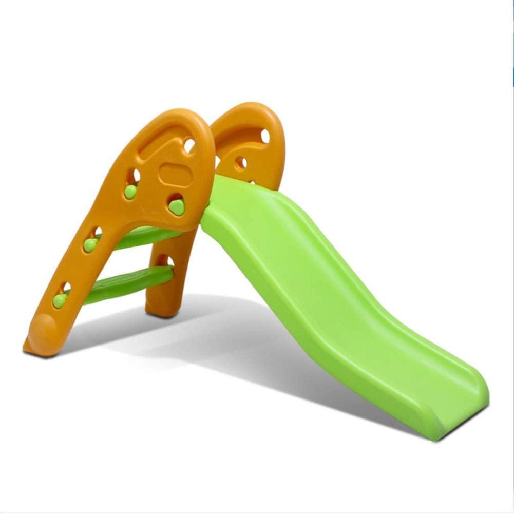 Tobogan Infantil Tobogan Niños Jardin Columpios Infantiles Exterior Tobogan Para Piscinas 2 En 1 Niño De Diapositivas Colorido Playset Con Escalador, Fácil De Subir Escaleras ( Color : Verde )
