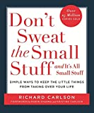 img - for Don?t Sweat the Small Stuff book / textbook / text book