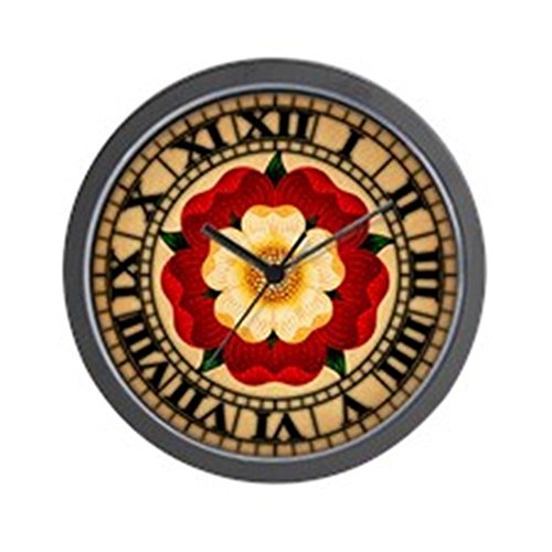 Cheap CafePress – Tudor Rose – Unique Decorative 10″ Wall Clock