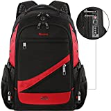 Travel Laptop Backpack, Large Capacity Business Backpacks with TSA Lock for Men Women,Water Resistant Anti Theft Extra Big College School Student Backpack with USB Port,Fits 17 inch Computer Notebook