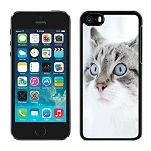 New Personalized Custom Designed For iPhone 5C Phone Case For Cute Cat In Snow Phone Case Cover