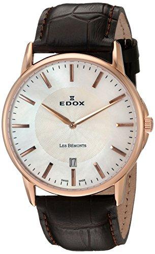 edox-mens-56001-37r-nair-les-bemonts-analog-display-swiss-quartz-brown-watch