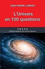 Book's Cover ofL'univers en 100 questions