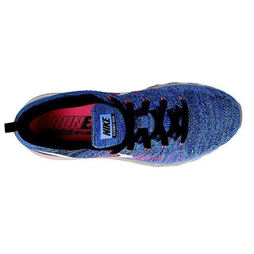 Black Glow Nike White Corsa Scarpe Blue blue da Max Donna racer Wmns Flyknit SqwRvS10
