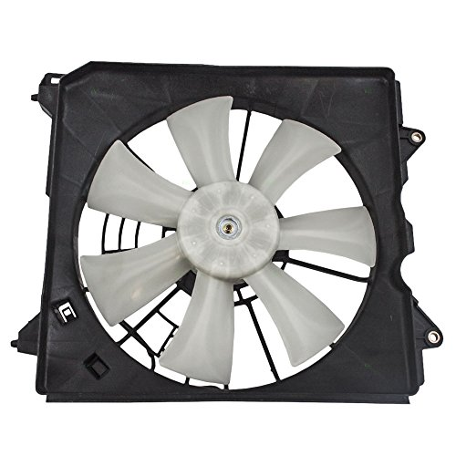 Passengers Denso Type A/C AC Condenser Cooling Fan Motor Assembly Replacement for Acura Honda 2.4L 38611-R40-A01 AutoAndArt ()