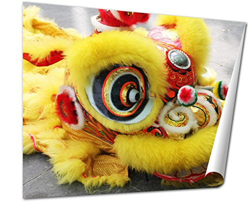 [Ashley Giclee Vietnam Dragon Suit Fine Art Decoration for kitchen, living room, home office, den or bedroom, ready to frame, 24x30 Print] (Dragon Dance Costume For Sale)