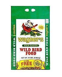 Wagner\'s 13009 Four Season Wild Bird Food, 22-Pound Bag