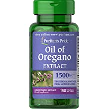 Puritan's Pride Oil of Oregano Extract 1500 mg-180 Softgels