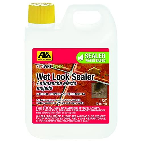 Fila Wet ECO- Wet Look Sealer for Natural Stone - 1 QT (946 ml)
