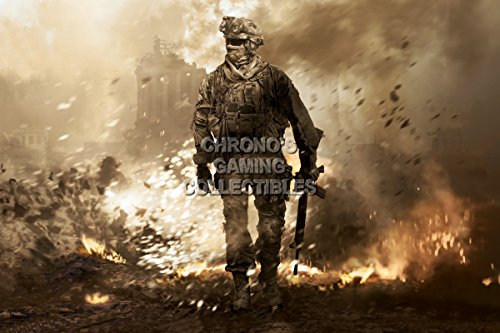 Cgc Huge Poster   Call Of Duty Modern Warfare 2 Cod Ps3 Ps4 Xbox 360 One   Cod012  24  X 36   61Cm X 91 5Cm