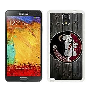 Samsung Galaxy Note 3 NCAA Atlantic Coast Conference ACC Footballl Florida State Seminoles 12 White Cellphone Case Beautiful and Cool Design