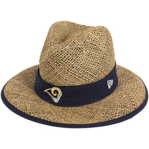 New Era Men's NFL Natural On Field Training Camp Hat (Los Angeles Rams)