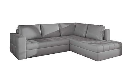 Amazon.com: EQsalon REVENA Modern L-Shaped Corner Sofa ...