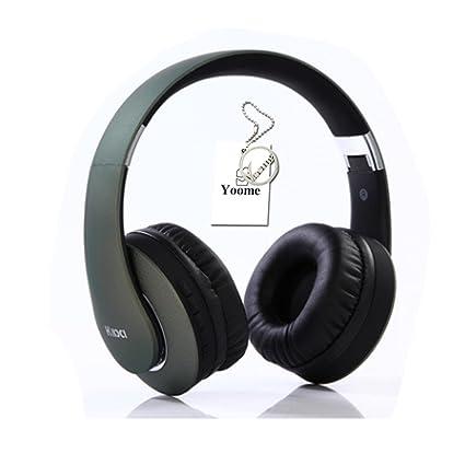 Yoome Auriculares Bluetooth Over Ear Hi-Fi Deep Bass Auriculares inalámbricos elegantes sobre el oído